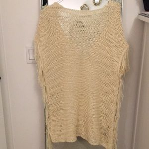 Zara knit coverup